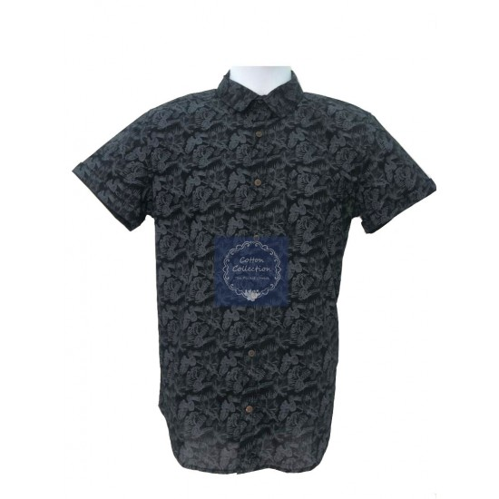 100% Premium Cotton Casual Shirt (Fresh Import) Baju Batik/Highly In-Fashion