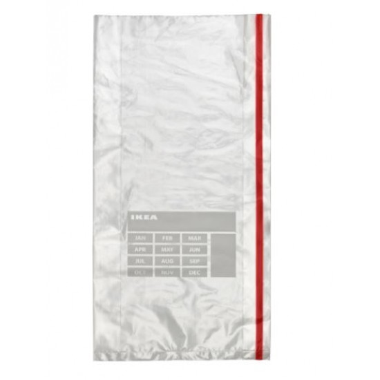 FÖRNYBAR Freezer bag, red