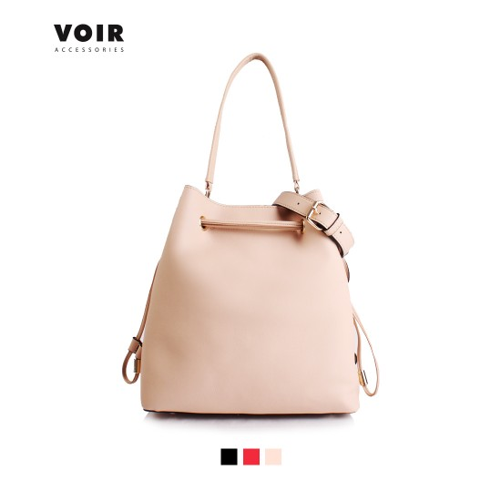 VOIR Women Large Drawstring Shoulder Bag