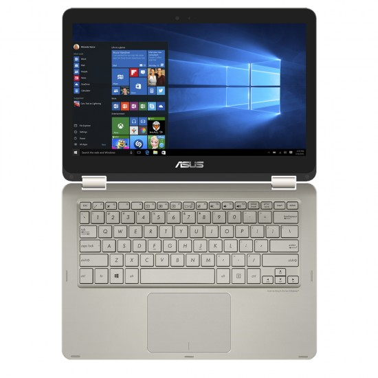 """Asus Transformer Book TP201S-AFV0023 11.6"""" Touch Laptop Icicle Gold (N3060, 4GB, 500GB, Intel, DOS)"""