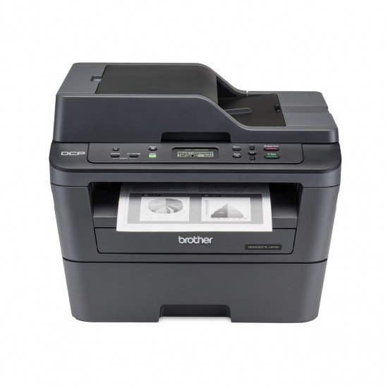 Brother DCP-L2540DW Multifunction Laser Printer Print, Scan, Copy with Duplex