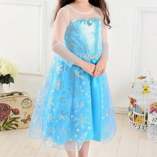 Frozen Princess Dress for Girls