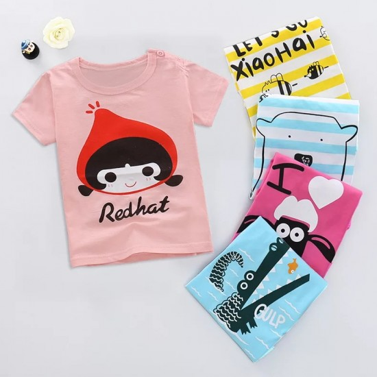 Colorful T shirt For Kids Latest Style