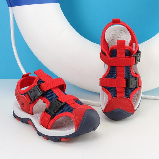 Genuine  bear leather Sandals for Boys