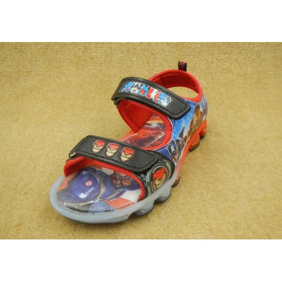 Avengers Outdoor Sandal with Flashing Light
