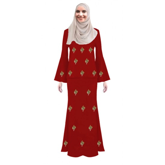 Grace Modern Baju Kurung For Muslimah Fashion