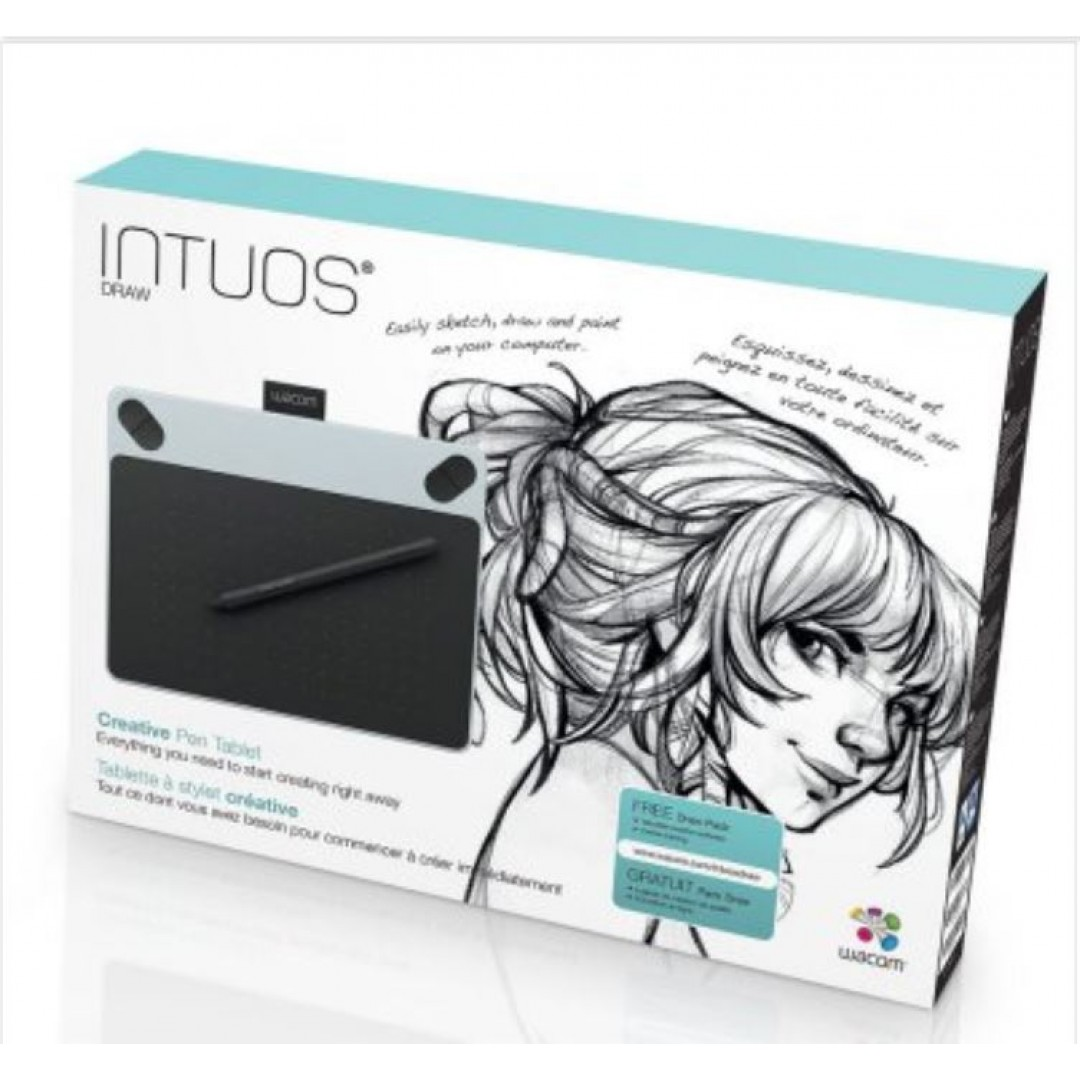 acom INTUOS DRAW Creative Pen Tablet