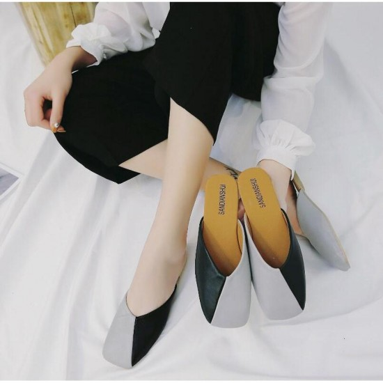 Retro Korean Ladies Fashion Slippers