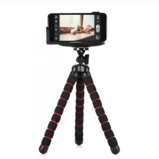 10 inch Flexible Octopus Tripod Holder for Phone and Camera JM-219599201