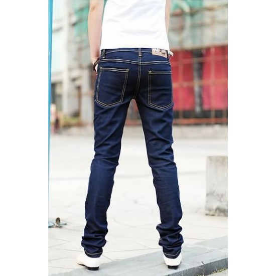 Korean Men Slim Fit Jeans / Men Jeans / Slim Fit / Long Jeans- RS006