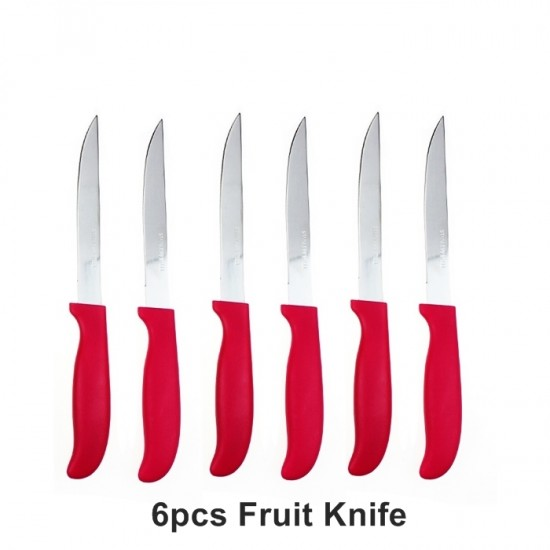 6pcs Fruit Knife