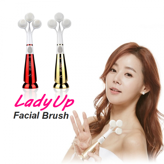Lady Up Triple Head Cleansing Pore Sonic Pobling Facial Cleanser
