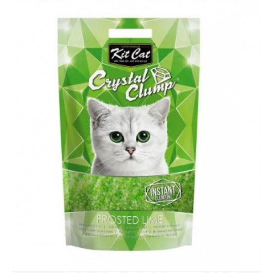 Kit Cat Crystal Clump Frosted Lime 4L