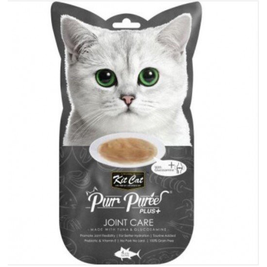 KIT CAT PURR PUREE PLUS JOINT CARE TUNA AND GLUCOSAMINE 60G